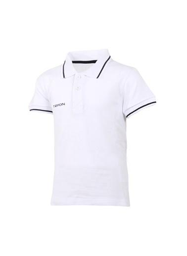 Tryon Tryon Çocuk Polo T-Shirt Beta Jr Beyaz